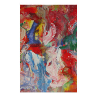 Abstract Art Stationery