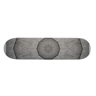 ABSTRACT ART STEEL SKATE BOARD DECKS
