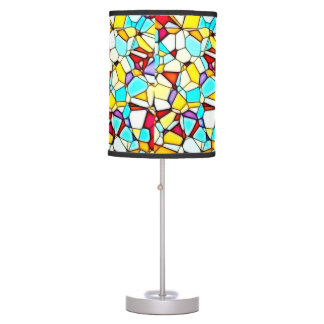Abstract Art Table Lamp