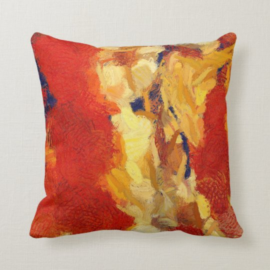Abstract Art Throw Pillow (D)