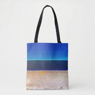 "Abstract Art Tote Bag ""Beach"""