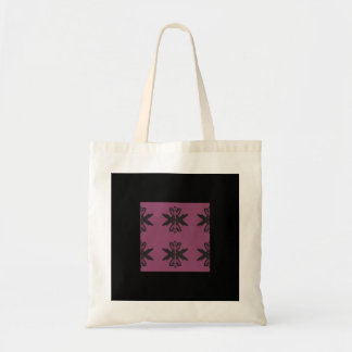 Abstract Art Tote Purple Design
