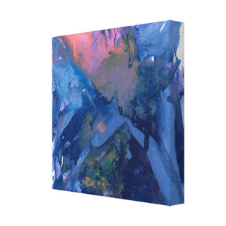 Abstract Art - Wall Art - Blue Pink Purple