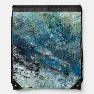 Abstract Art - Weightlessness Drawstring Bag