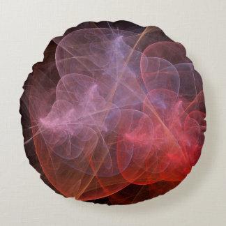 Abstract Art Wonderful Galaxy Round Pillow