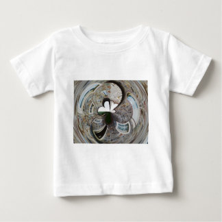 Abstract artistic background of rural house baby T-Shirt