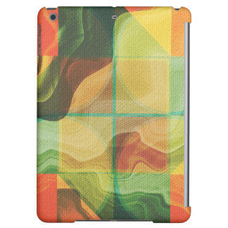 Abstract artwork cover for iPad air