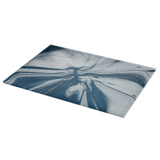 Abstract artwork cutting board
