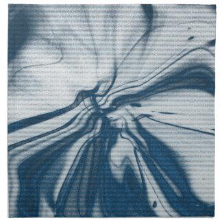 Abstract artwork napkin