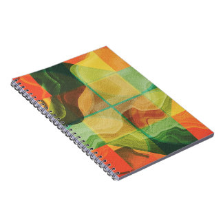 Abstract artwork notebooks