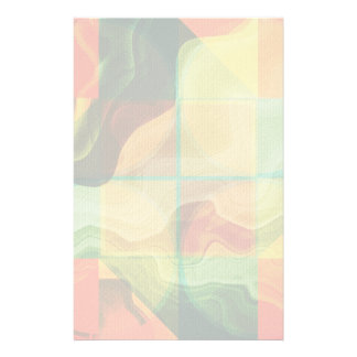 Abstract artwork stationery