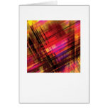 Abstract Arty Greetings Card