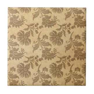 Abstract Autumn/Fall Flower Patterns Ceramic Tile
