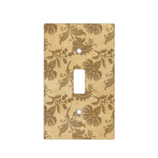 Abstract Autumn/Fall Flower Patterns Light Switch Cover