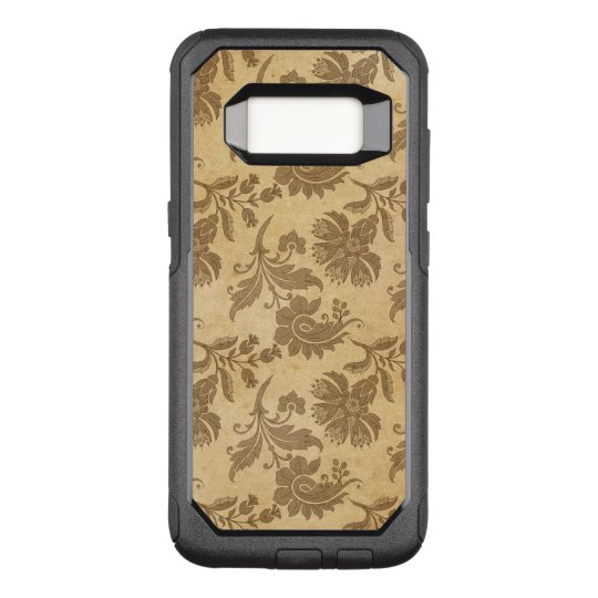 Abstract Autumn/Fall Flower Patterns OtterBox Commuter Samsung Galaxy S8 Case