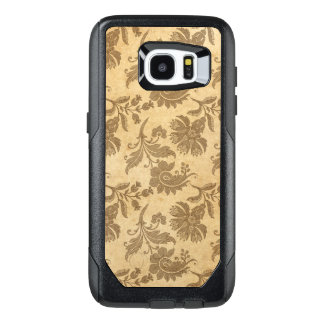 Abstract Autumn/Fall Flower Patterns OtterBox Samsung Galaxy S7 Edge Case