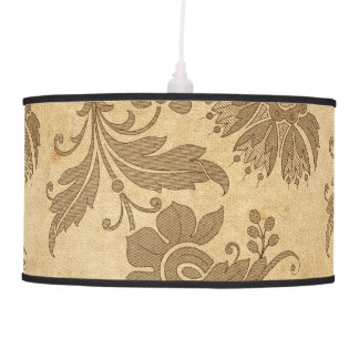 Abstract Autumn/Fall Flower Patterns Pendant Lamp