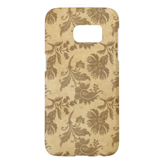 Abstract Autumn/Fall Flower Patterns Samsung Galaxy S7 Case