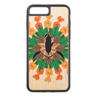 Abstract Autumn Harvest Collage Carved iPhone 8 Plus/7 Plus Case