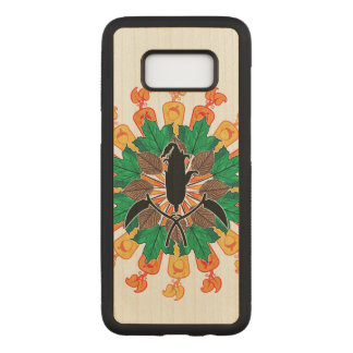 Abstract Autumn Harvest Collage Carved Samsung Galaxy S8 Case