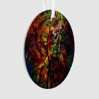 Abstract Autumn Ornament