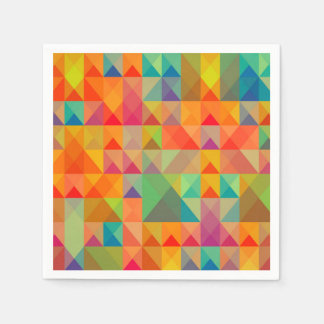 Abstract Background Colorful Paper Napkin