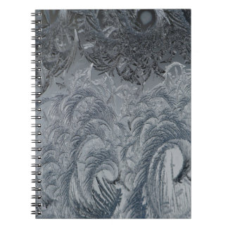 Abstract Background Grey Feathers Notebooks