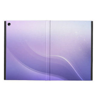 Abstract background in purple colors iPad air case