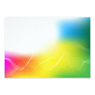 Abstract Background Custom Invitations