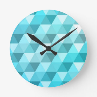 Abstract background made of mosaic pattern clock
