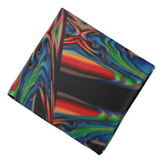 Abstract Background Multicolorwined Interwined Bandana