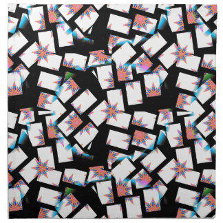 abstract background napkin