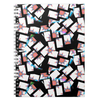 abstract background notebooks