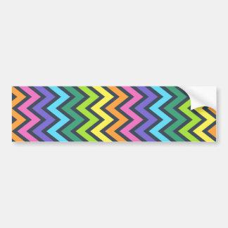 abstract background pattern geometry decorative wa bumper sticker