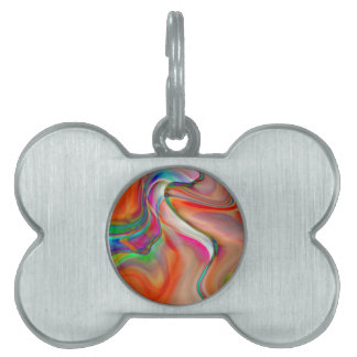 abstract background pet tags