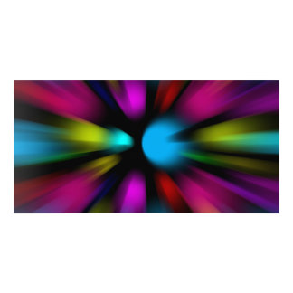 Abstract Background Photo Greeting Card