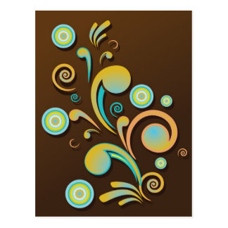 abstract background postcard