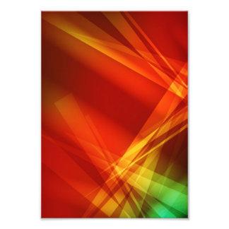 Abstract-Background RED YELLOW GREEN DIGITAL RANDO Photo Print