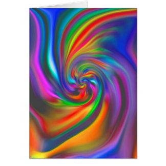 Abstract Background Spirals Soft II Card