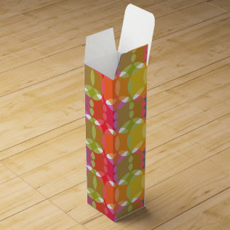 Abstract Background Wine Gift Box