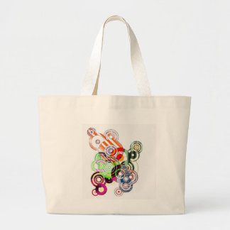 abstract tote bags