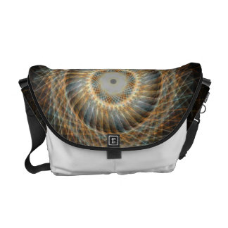 ABSTRACT BAG MESSENGER BAG