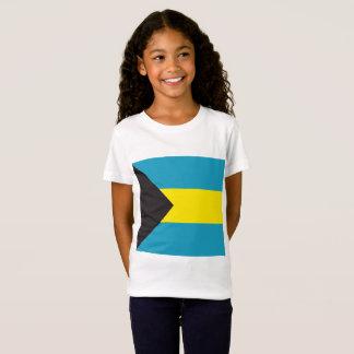 Abstract Bahamas Flag, Bahamian Colors Shirt
