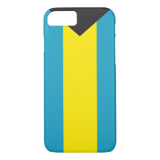 Abstract Bahamas Flag, Bahamian Phone Case