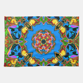 Abstract Balance of Color Kitchen Towels