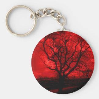 Abstract Bald Tree Keychain