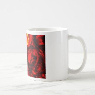 Abstract balls of gel coffee mug