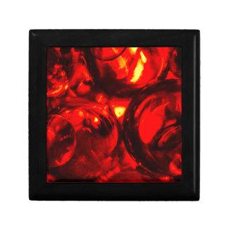 Abstract balls of gel gift box