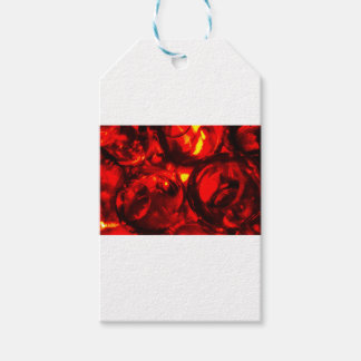 Abstract balls of gel gift tags