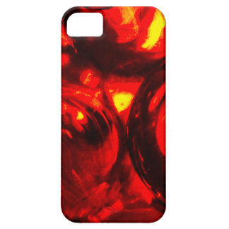 Abstract balls of gel iPhone 5 covers